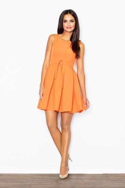 Orandžinė suknelė