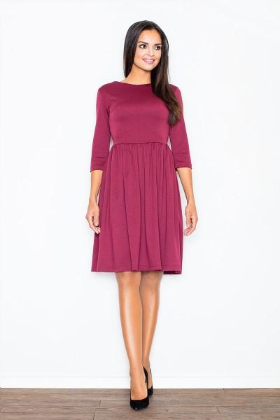 Burgundiška suknelė