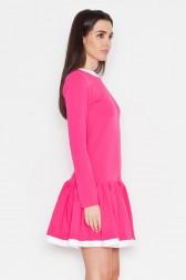 Ryškiai rožinė suknelė