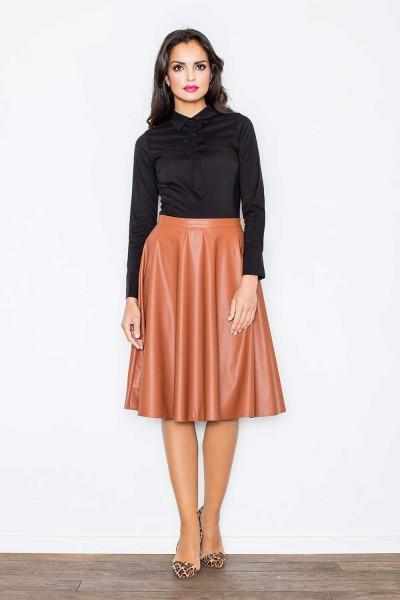 Rudas odinis sijonas
